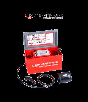 Máquina de electrofusión para soldar tuberías de agua y gas
